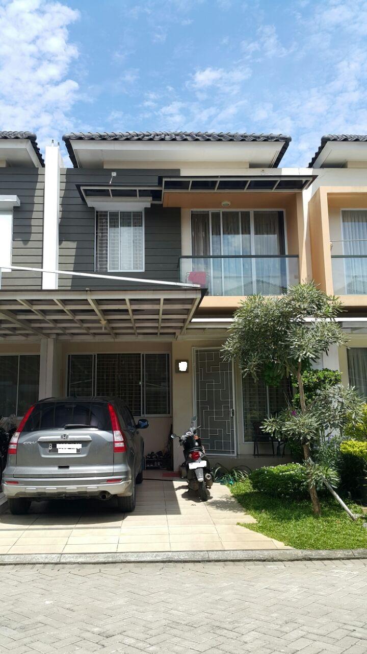 Rumah dijual cepat di Lotus Garden , Grand Galaxy City Bekasi Barat