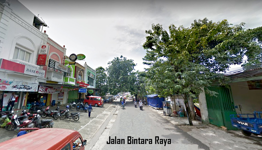 Ruko dijual Lokasi Ramai Pinggir Jalan Raya, Bintara Residence, Bekasi