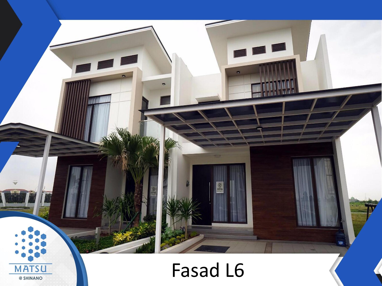 Dijual Rumah Cluster Baru, MATSU @SHINANO di Jakarta Garden City