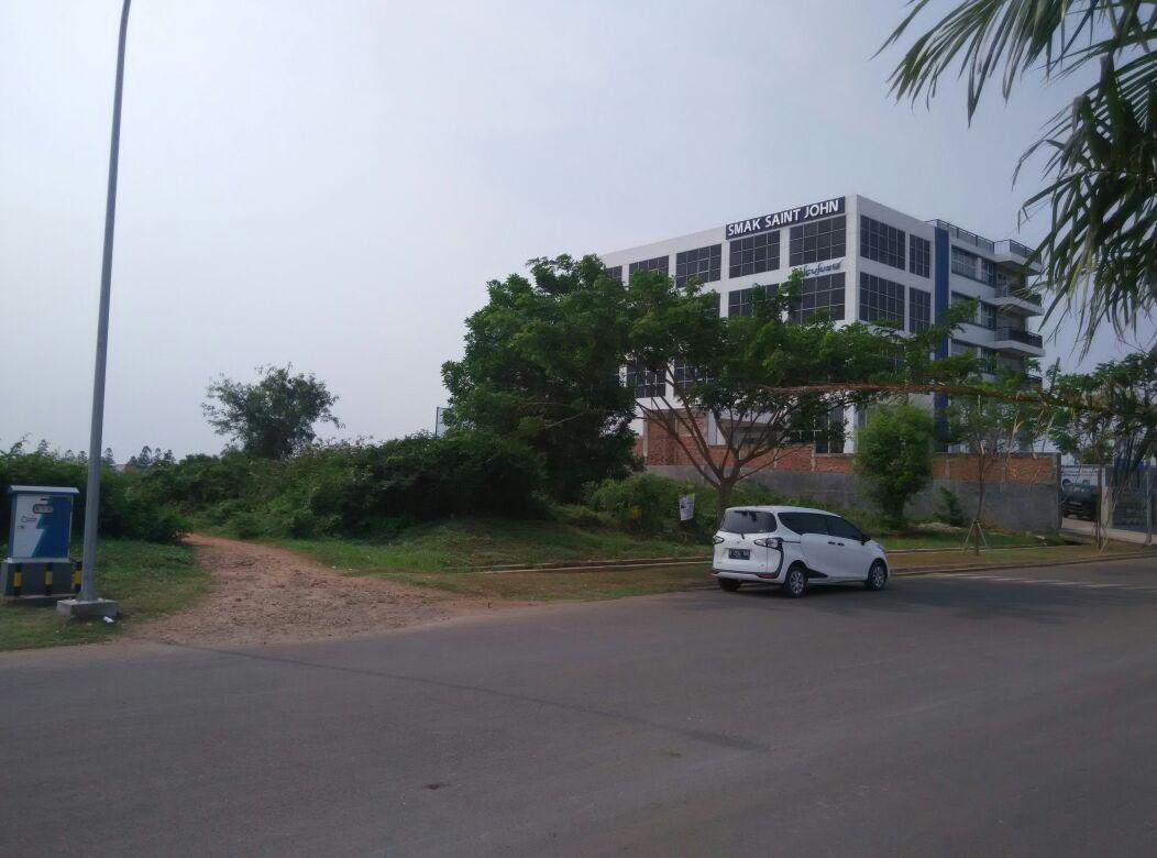 Kavling Sentra Niaga dijual murah, lokasi strategis pinggir jalan raya di Kota Harapan Indah, Bekasi