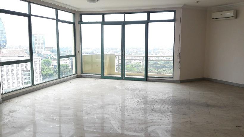 Apartemen di Fountain Park (Griya Pancoran), 3 BR, Lantai 15, City View; Luas 168 m2