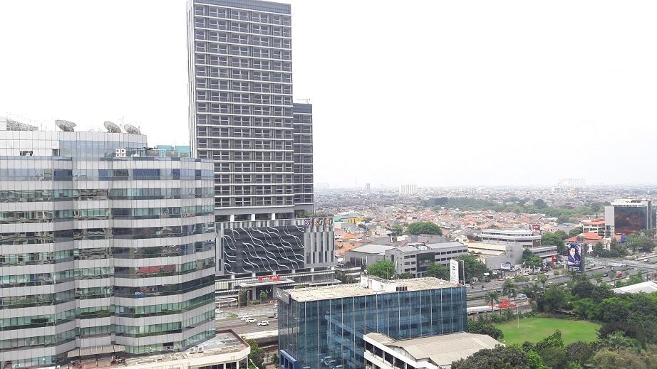 Penthouse di Fountain Park (Griya Pancoran) di Pancoran, JAkarta Selatan, 4 BR, City View, Luas 239 m2
