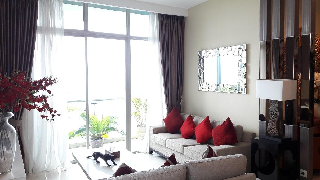 Apartemen di Essence Dharmawangsa, East Tower, High Floor, 2 Bedrooms, Private Lift, Furnished