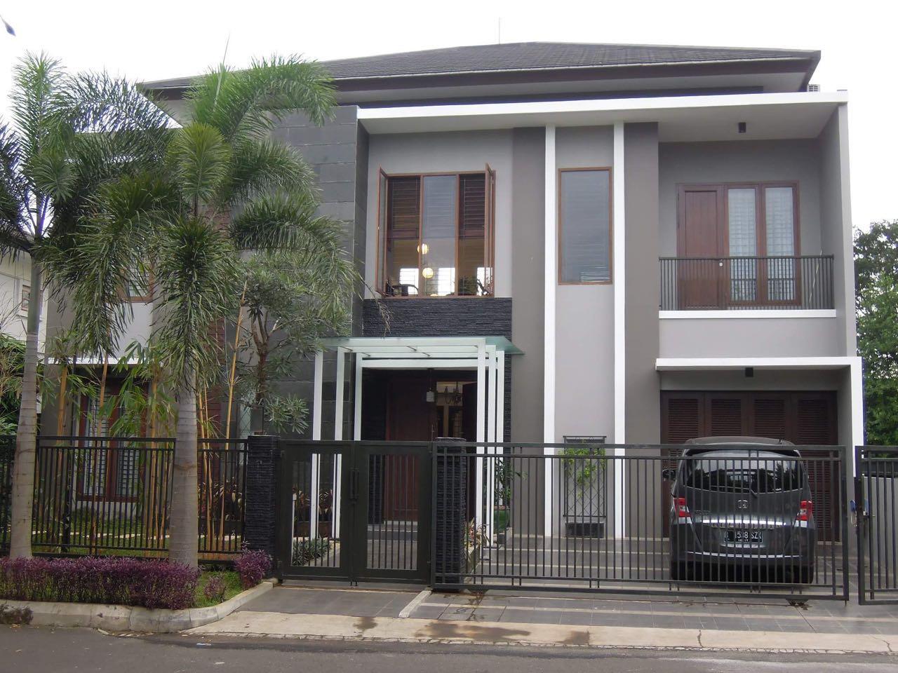 Dijual rumah bagus, siap huni di daerah menteng utama bintaro, tangsel.