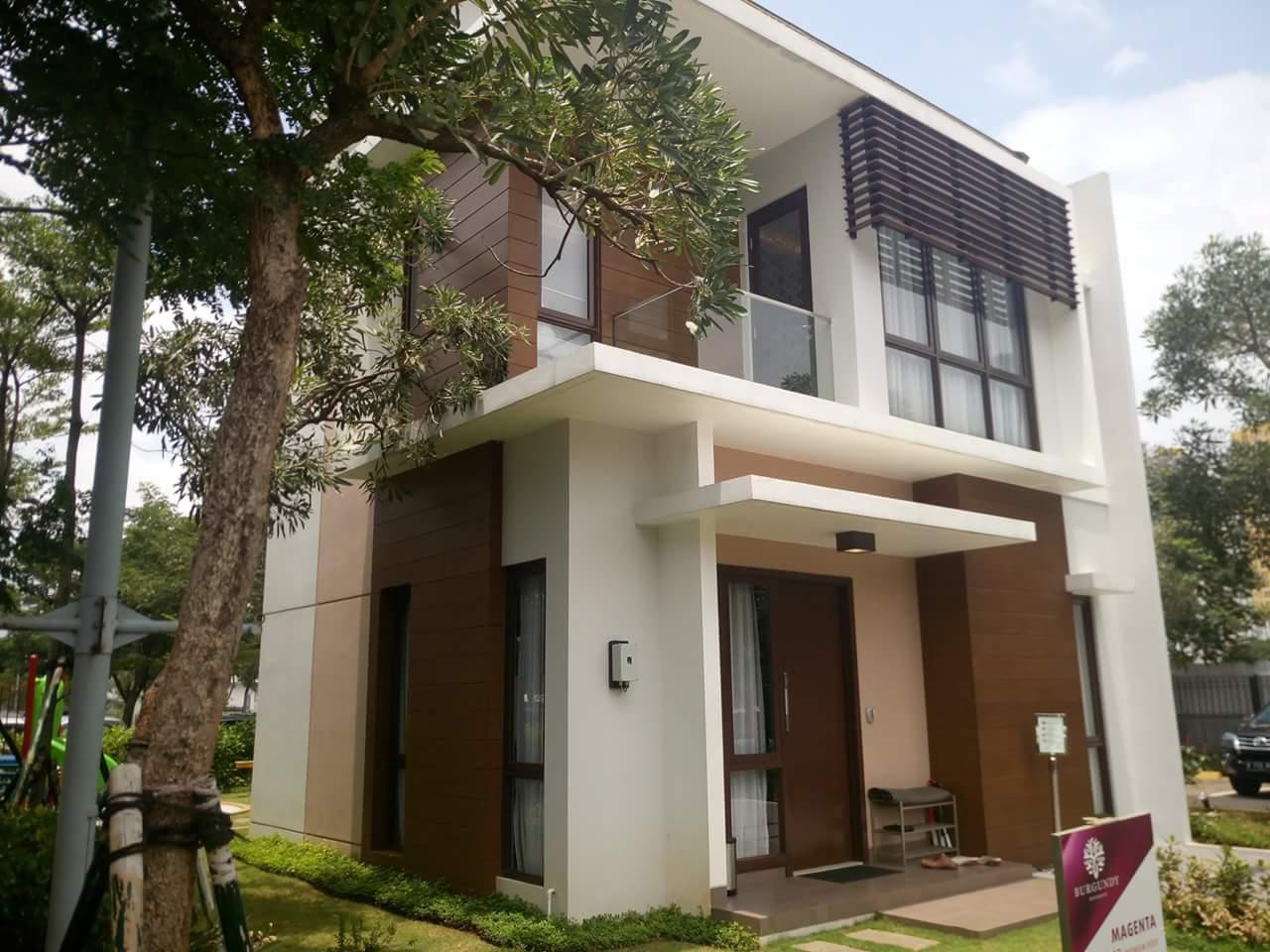 Dijual Rumah Smart Home cluster Burgundy @ Summarecon Bekasi