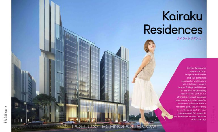 Dijual Apartemen KAIRAKU RESIDENCE harga WOW @ Pollux Technopolis Karawang