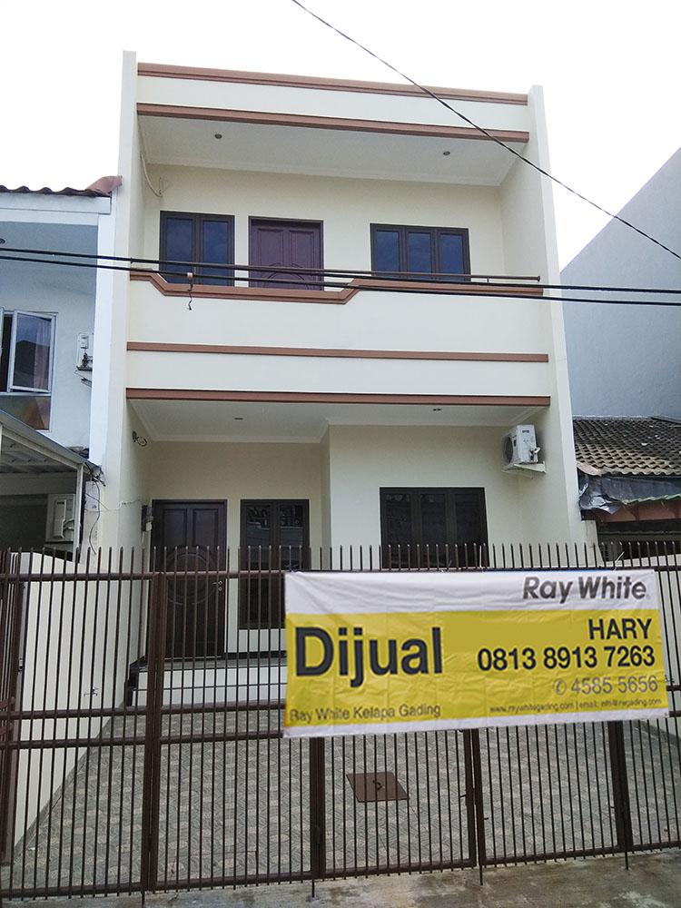 Rumah di Jual Janur Kuning-Kelapa Gading-Jakarta Utara