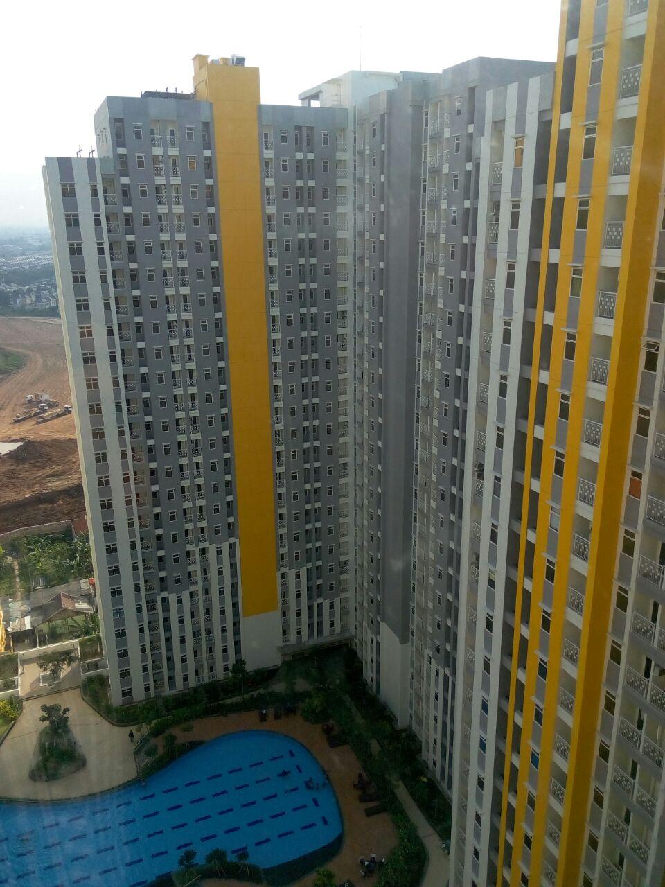 Disewakan Apartment Springlake Summarecon Bekasi Type 2 BR Tower Basella Lt.17 No.27 Cuma 20 Juta/Tahun