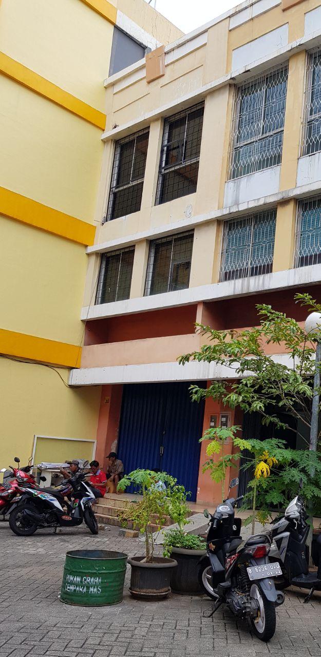 Ruko 3-1/2 Lt di Jual Cempaka Mas-Jakarta Pusat