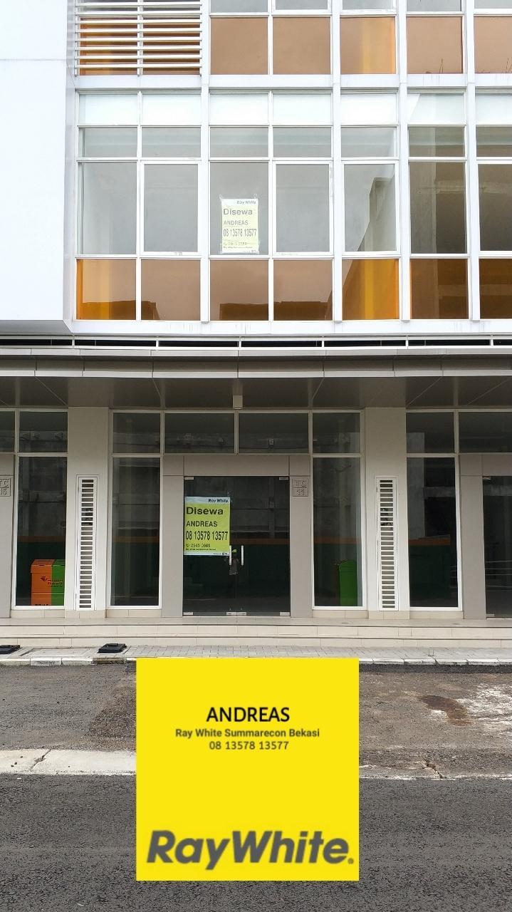 Ruko 3 Lantai Baru Siap Pakai di Ruko Ruby Commercial Summarecon Bekasi, Kota Bekasi, Jawa Barat