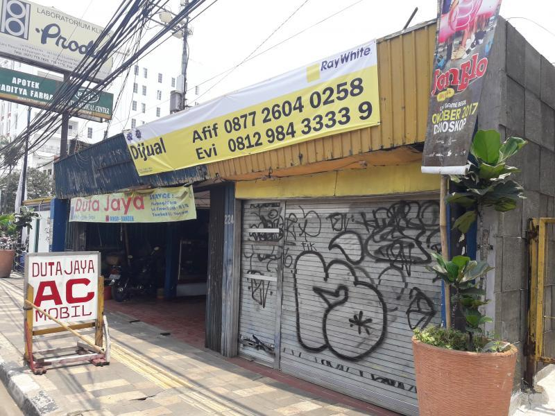 Ruko Strategis Margonda Raya Depok - Depan Hanamasa & Mc\'Donald dekat Komplex Exclusive Pesona Khayangan & Margo City Mall