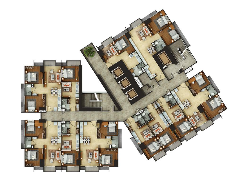 Condominium The Accent Bintaro