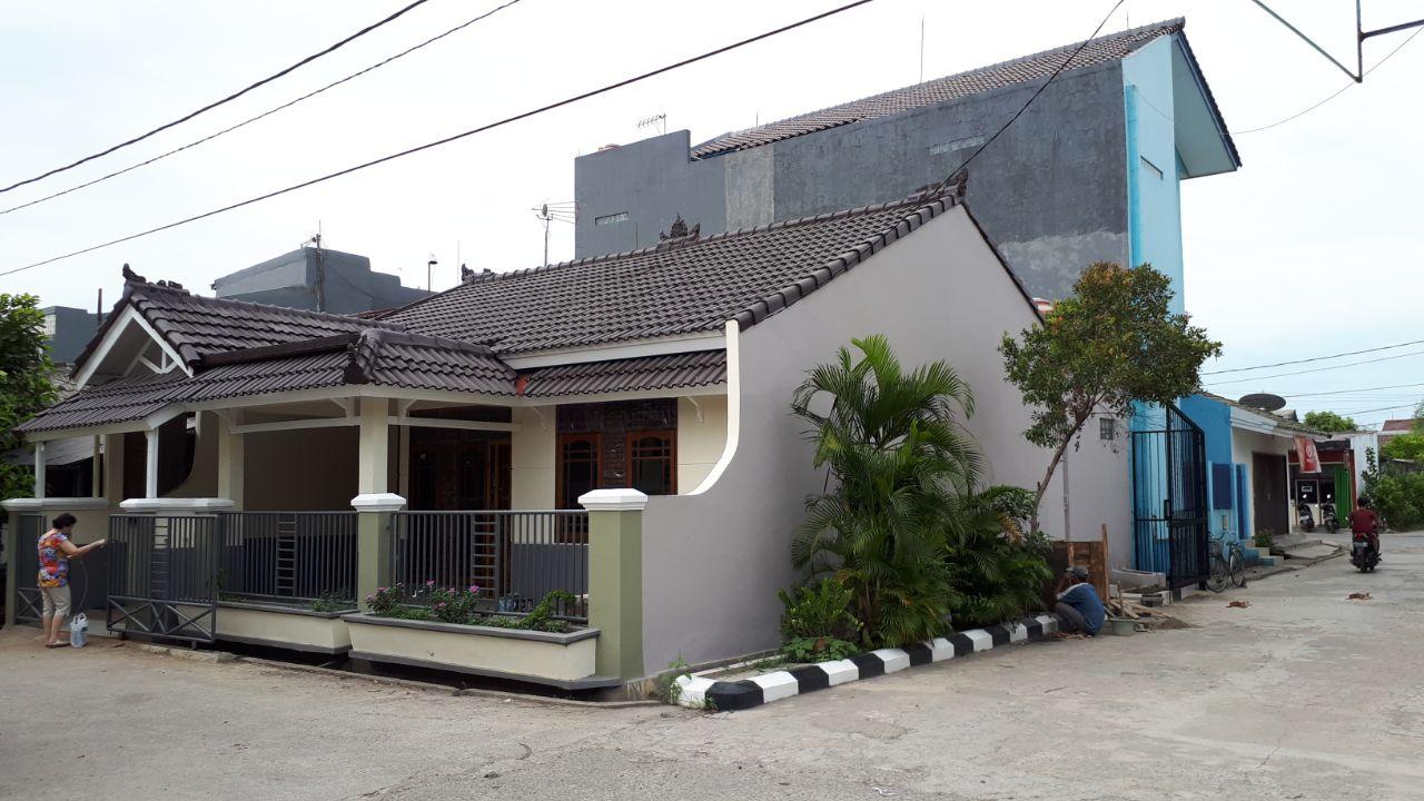 Rumah Minimalis Bagus Harga Cantik, Design khusus untuk Anti Banjir di Harapan Indah