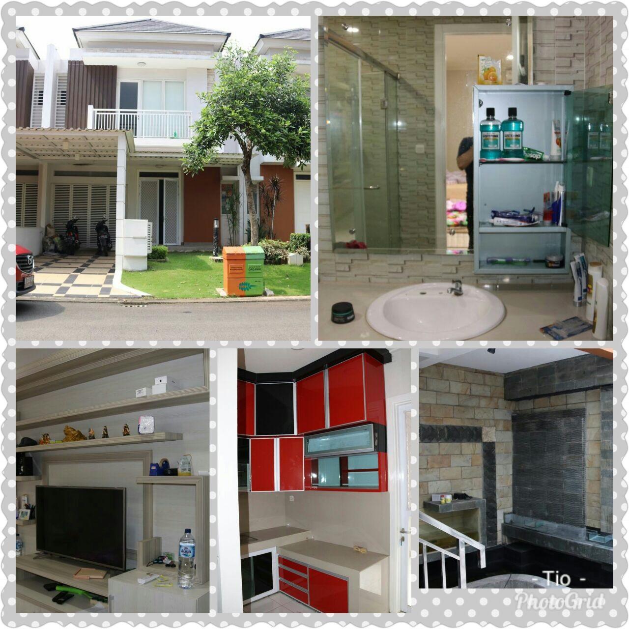 Rumah Cantik Harga Menarik Sudah Renov DiCluster Acacia Summarecon Bekasi @ Bekasi