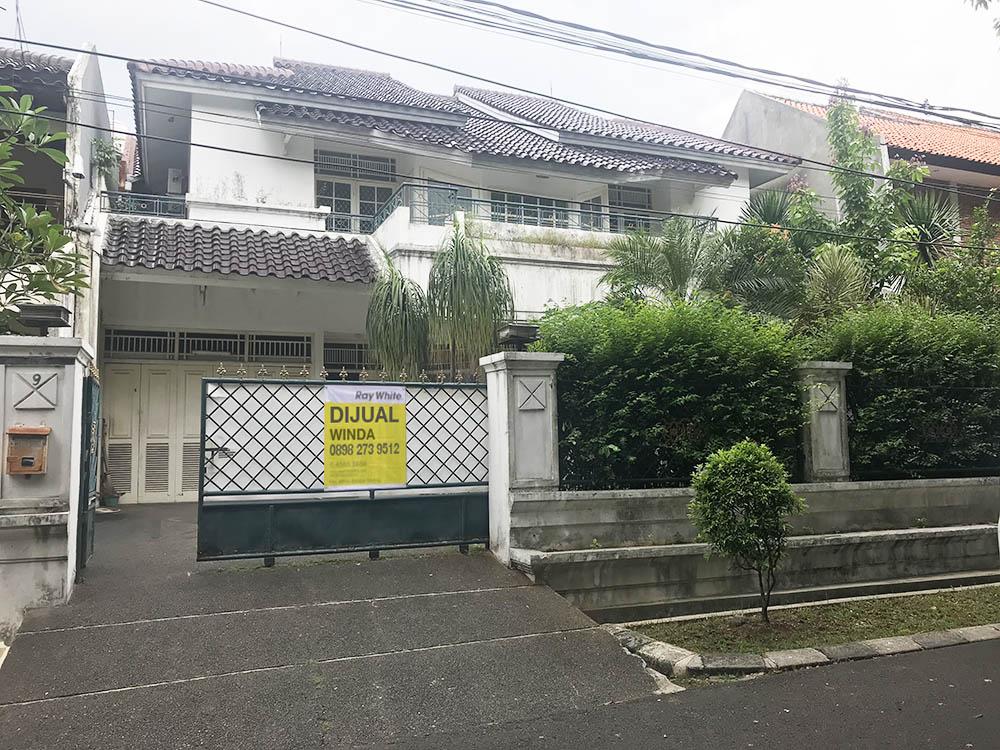 Rumah di Jual Ciniru-Kebayoran Baru-Jakarta Selatan
