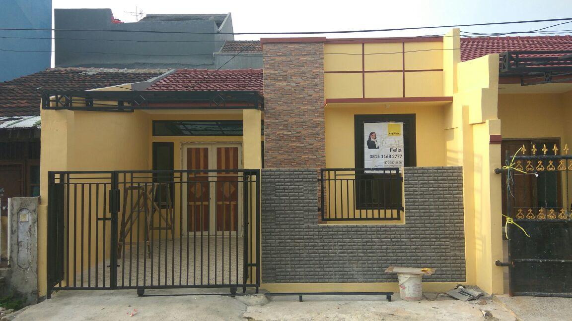Rumah Baru renov dijual jln Markiza di Harapan indah 1,Bekasi barat