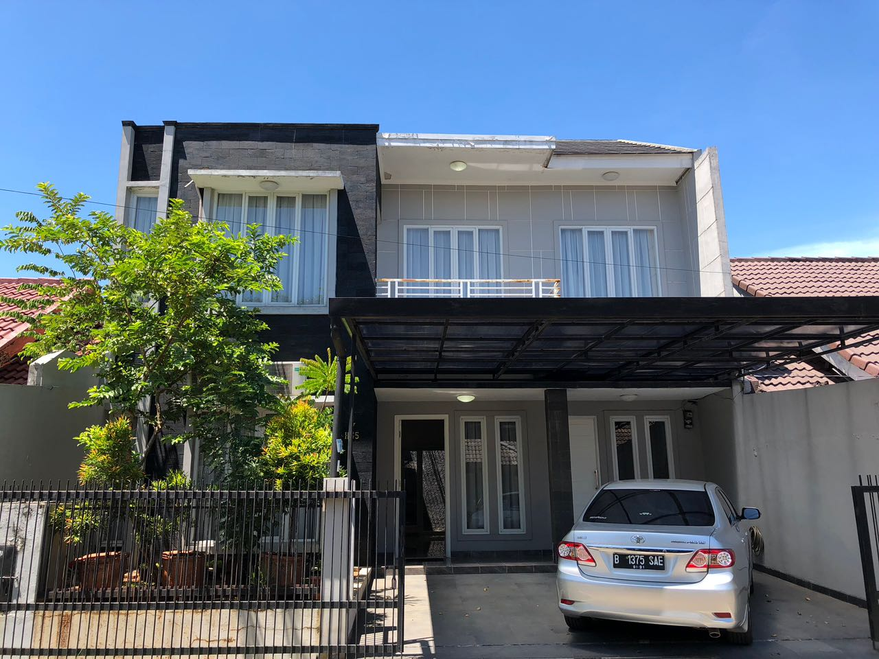 Rumah disewakan di kawasan Bintaro