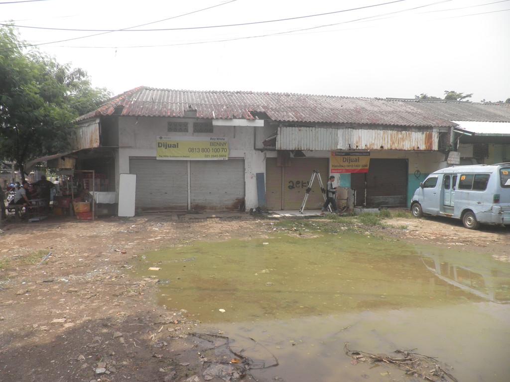 Dijual Segera Tanah Kavling Strategis (Hoek) di Jl.Raya Patriot Kranji Bekasi Barat