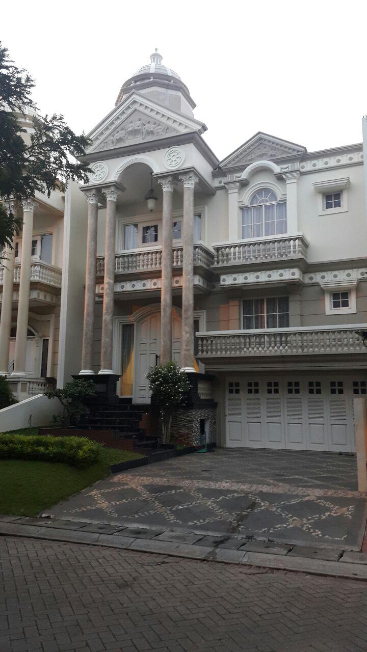 Rumah di Jual Garden House-Jl Garden Imperial-PIK-Jakarta Utara
