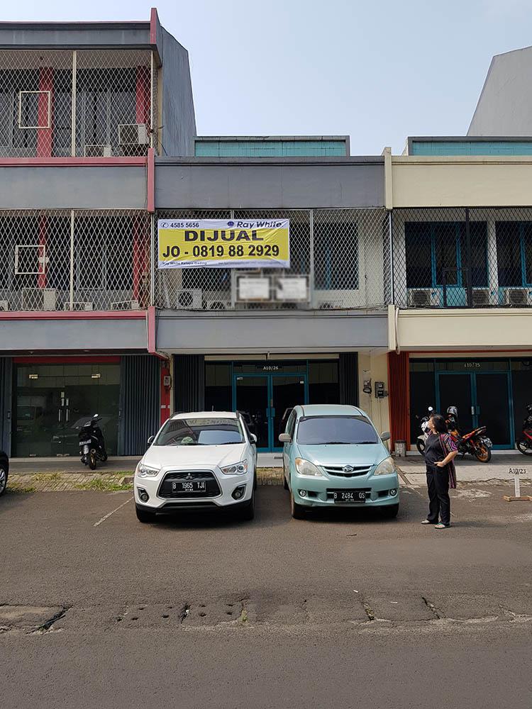 Ruko di Jual Gading Kirana-Kelapa Gading-Jakarta Utara