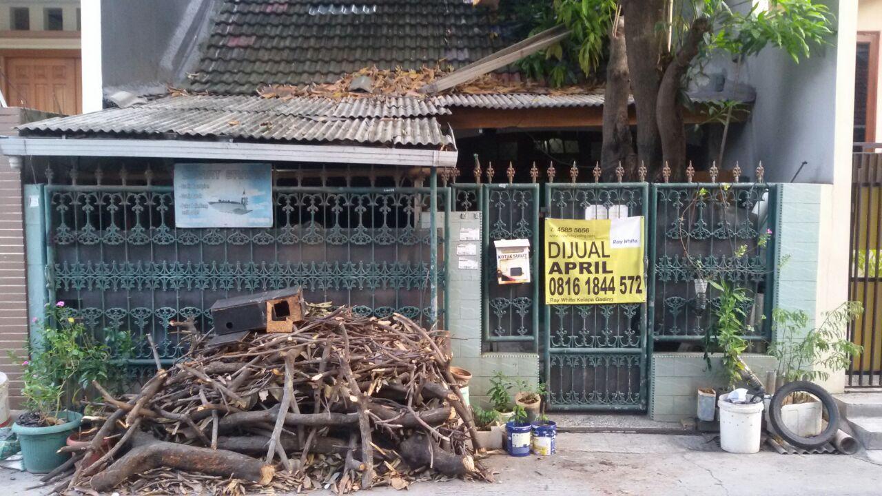 Rumah di Jual (Hitung Tanah) Sunter Garden-Jakarta Utara