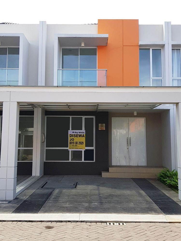 Rumah di Jual Agung Sedayu Cluster Eropa-Pegangsaan Dua-Jakarta Utara