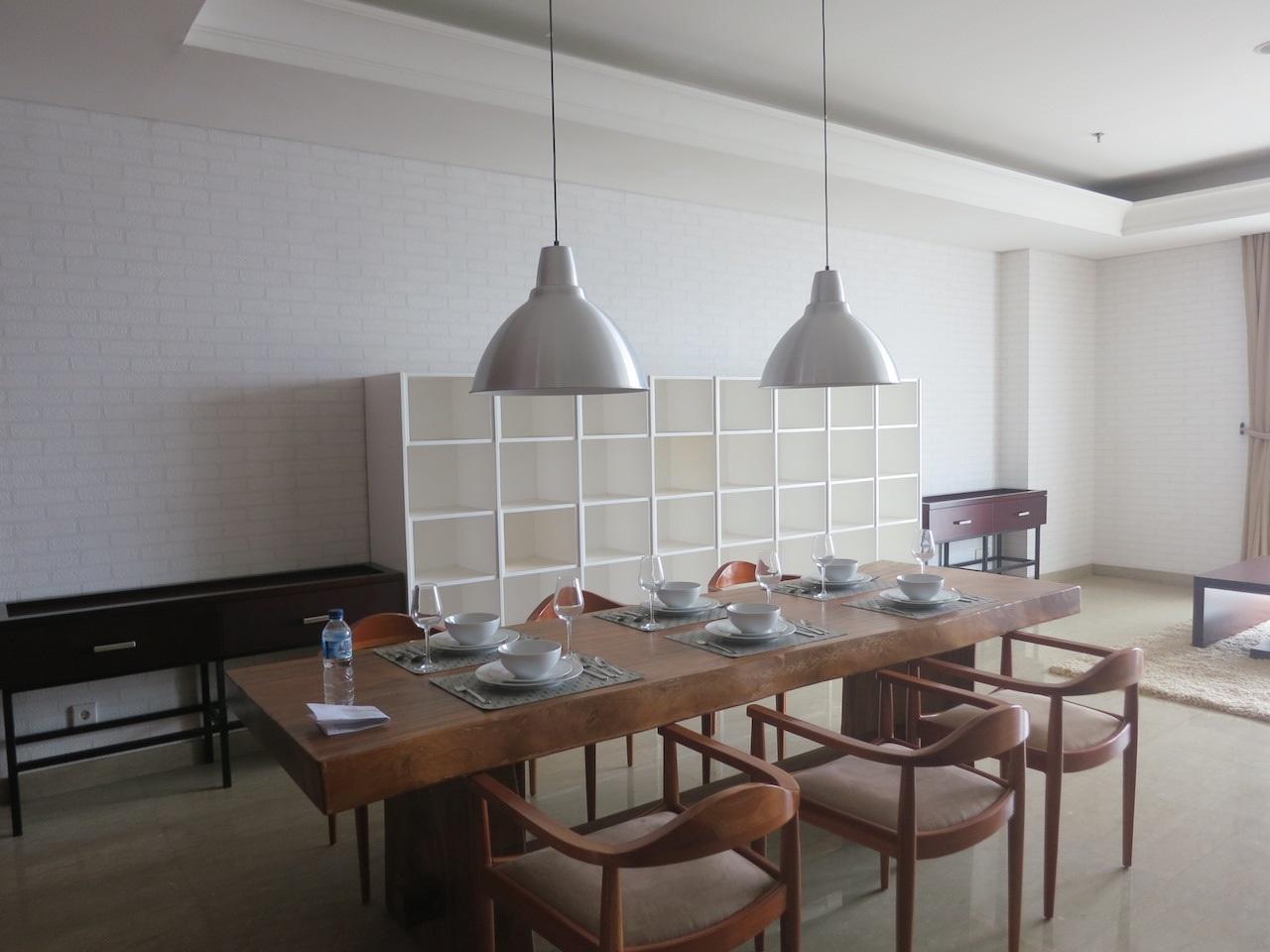 Apartemen di South Tower, Essence Dharmawangsa Apartmenet, 3 Bedrooms, Lantai 31, Semi Furnished