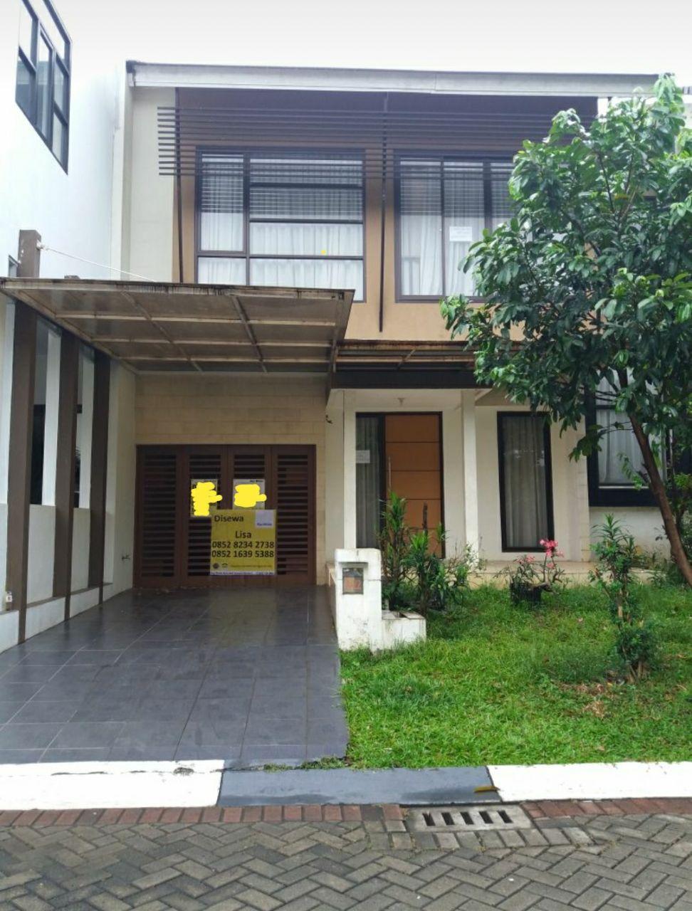 Rumah Nyaman dan Disewakan di Kawasan Cluster Discovery, Bintaro