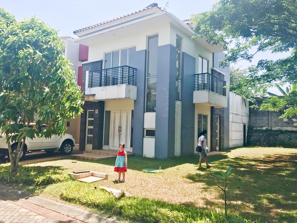 Rumah Nyaman dan Siap huni di Kawasan Cluster Residence One, BSD