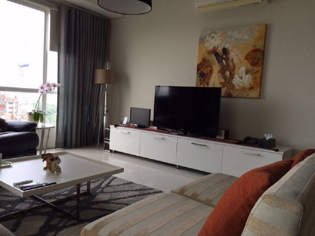 Apartment di 1 Park Residence, Tower B, Lantai 11, 3 Bedroom, City View, Furnished, Luas 148 m2