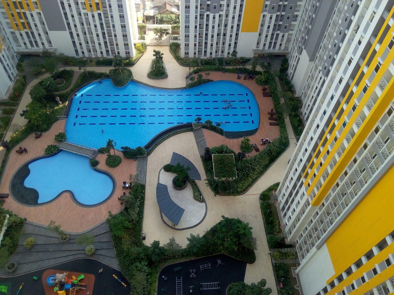 Jual Rugi Apartment Springlake 3 BR Tower Caldesia Lt.25 No.31 Cuma 700 Jutaan