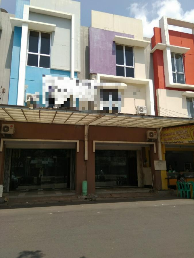 Dijual Ruko gandeng Ex Sanggar Senam 3 Lantai Full @ Asia Tropis Harapan Indah Bekasi
