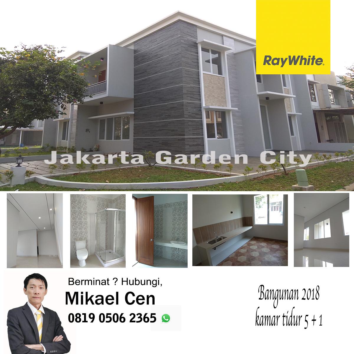 Rumah Baru Dengan Design Sendiri Tipe Large di Jakarta Garden City, Cakung