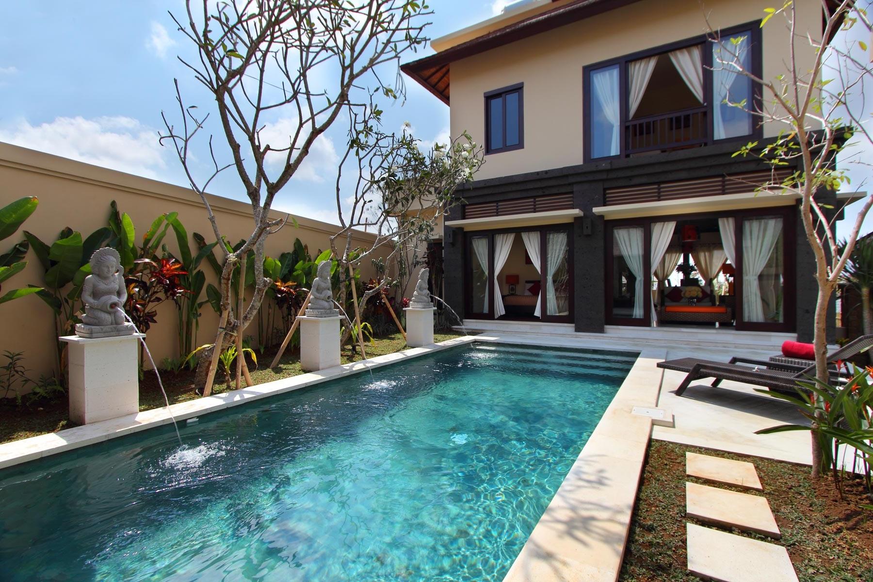 Freehold Modern Villa 2 Units In Complex Area Of Ungasan Jimbaran