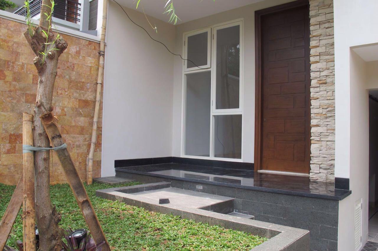 Dijual rumah brandnew Jl Gandaria kebayoran baru jakarta selatan