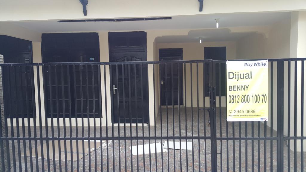 Dijual Segera Rumah Baru 1 1/4 Lantai (Hoek) di Perumnas 3 Bekasi Timur Harga Cuma 500 Jutaan