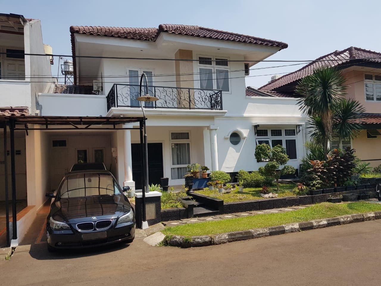 Rumah Nyaman dan Siap Huni di Kawasan River Park, Bintaro