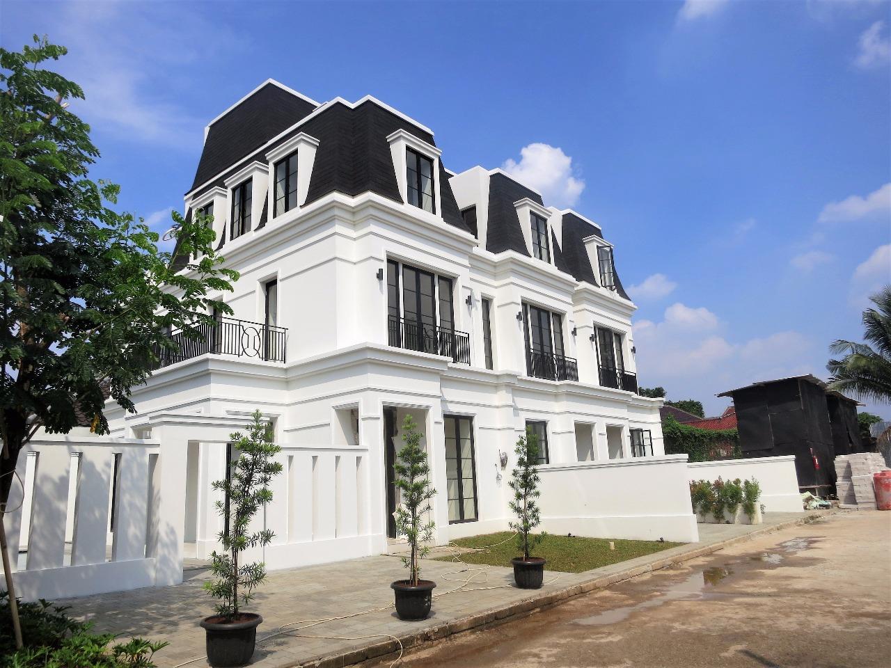 Dijual Rumah baru dalam townhouse,di kemang (on progress)