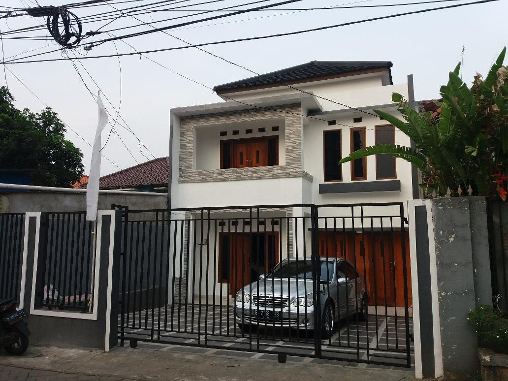 Disewakan Rumah baru bisa untuk kantor,di Cirendeu dekat dengan stasiun MRT Lebak bulus