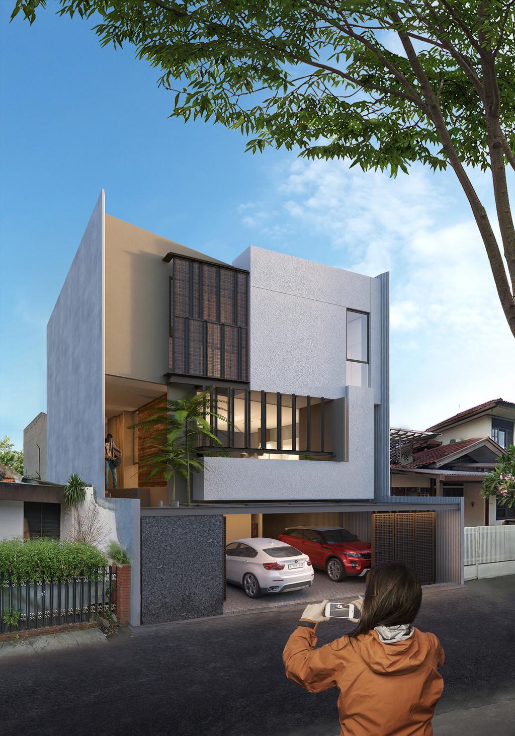 Cipete - Rumah dalam pembangunan