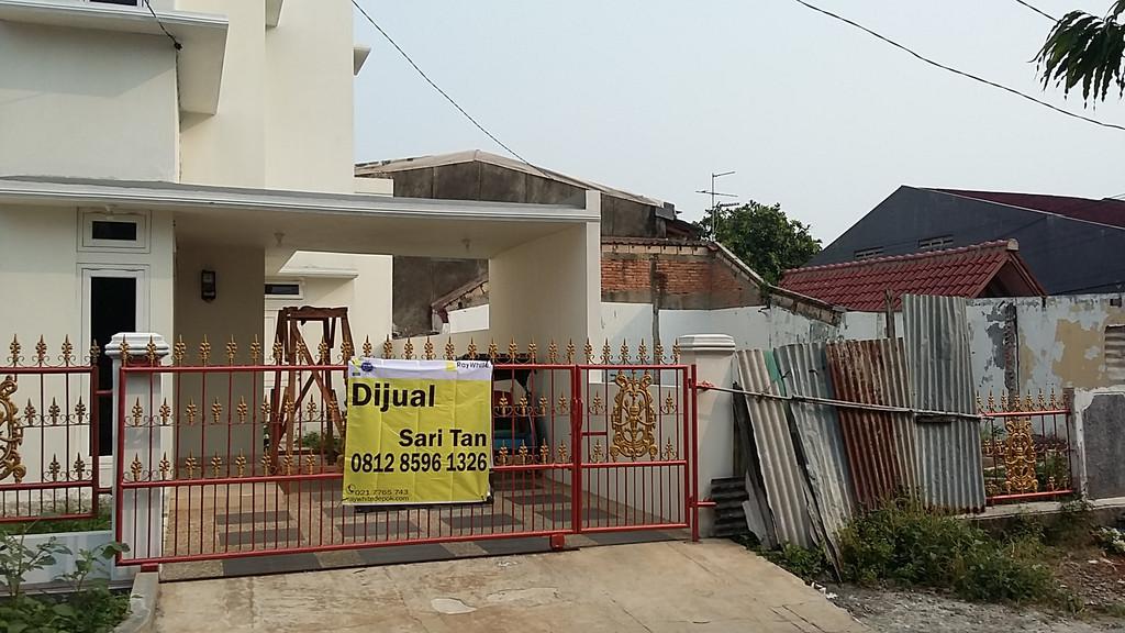 Depok Jaya, Tanah + Rumah Baru Cantik Minimalis, Dijual
