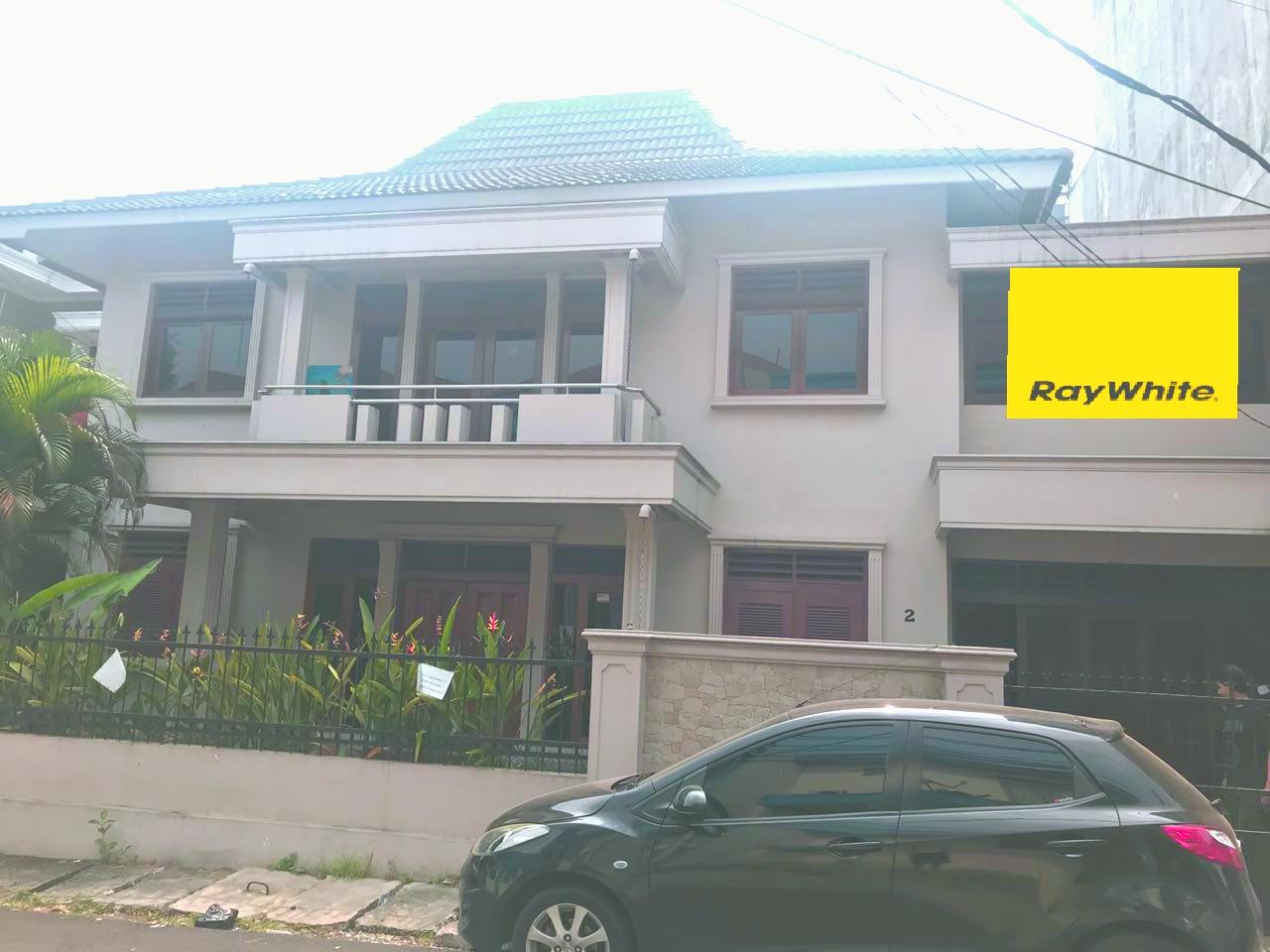 Disewakan Rumah baru renov bisa untuk kantor di Radio dalam dekat jalan raya