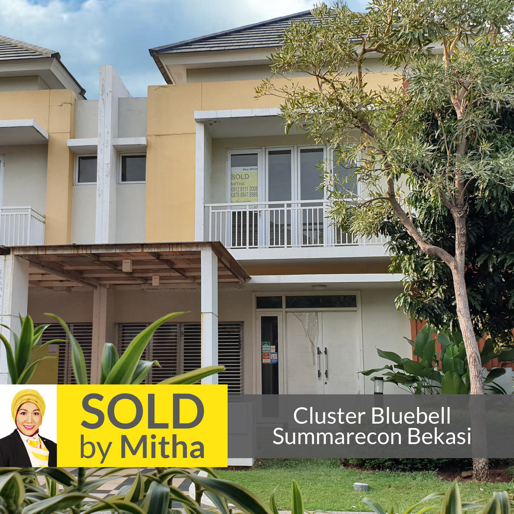 **SUMMARECON BEKASI CLUSTER BLUEBELL 9X17 SOLD OUT